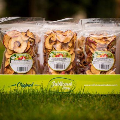Jablkové Čipsy Golden Delicious  160 g